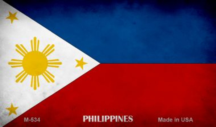 Philippines Flag Wholesale Novelty Metal Magnet