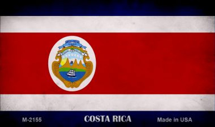 Costa Rica Flag Wholesale Novelty Metal Magnet