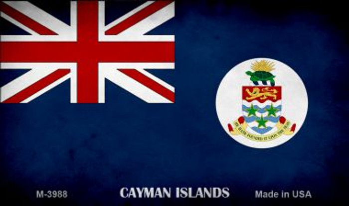 Cayman Islands Flag Wholesale Novelty Metal Magnet