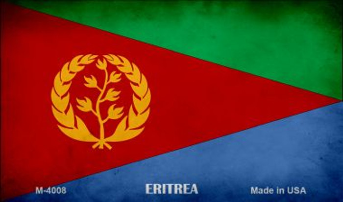 Eritrea Flag Wholesale Novelty Metal Magnet