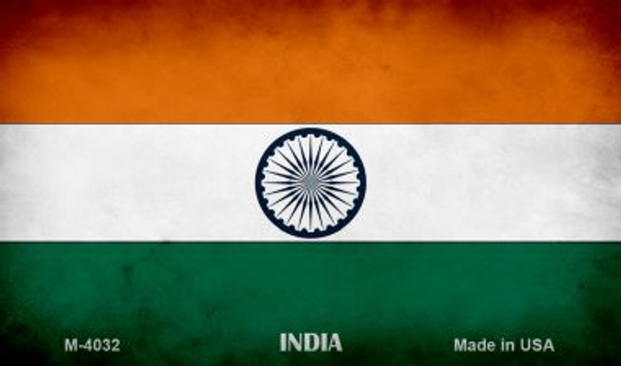 India Flag Wholesale Novelty Metal Magnet