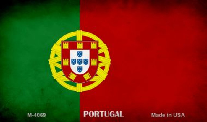 Portugal Flag Wholesale Novelty Metal Magnet
