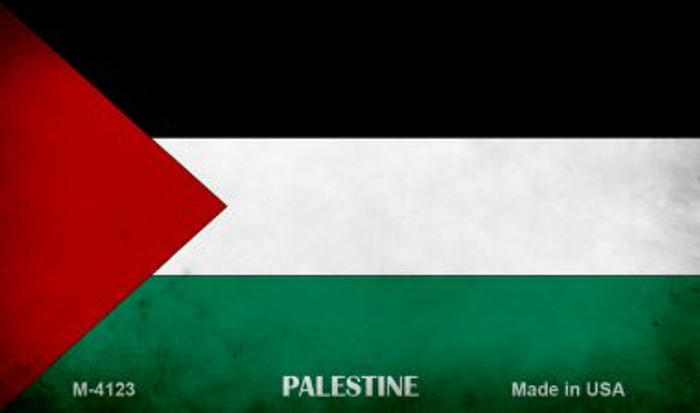Palestine Flag Wholesale Novelty Metal Magnet
