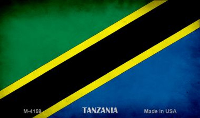 Tanzania Flag Wholesale Novelty Metal Magnet