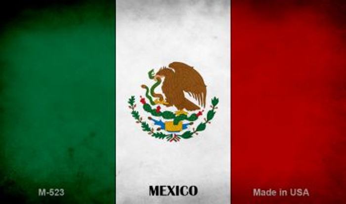 Mexico Flag Wholesale Novelty Metal Magnet