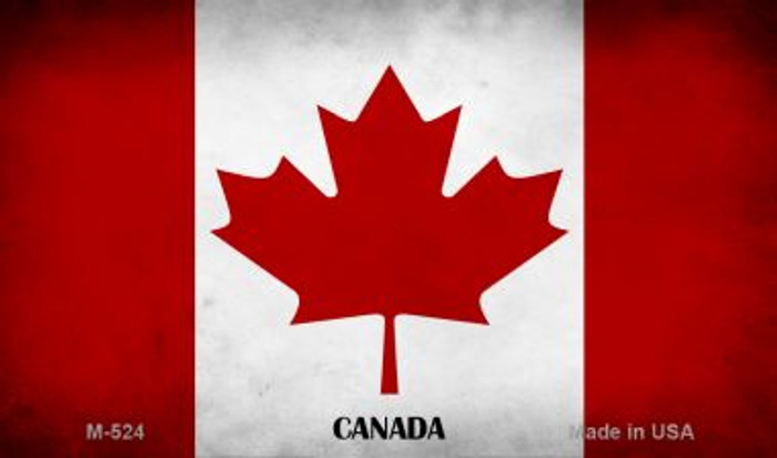 Canada Flag Wholesale Novelty Metal Magnet