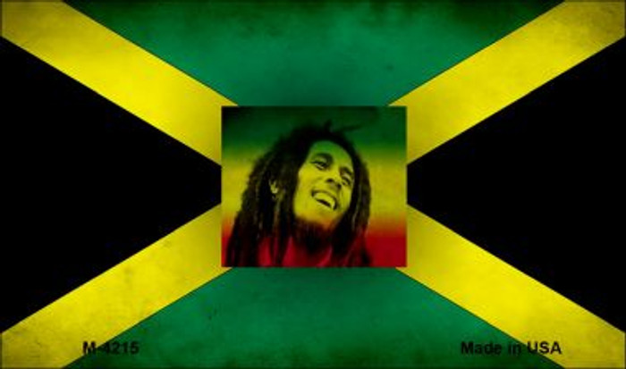 Jamaica Bob Marley Flag Wholesale Novelty Metal Magnet