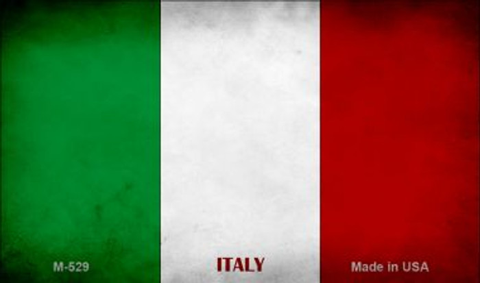 Italy Flag Wholesale Novelty Metal Magnet