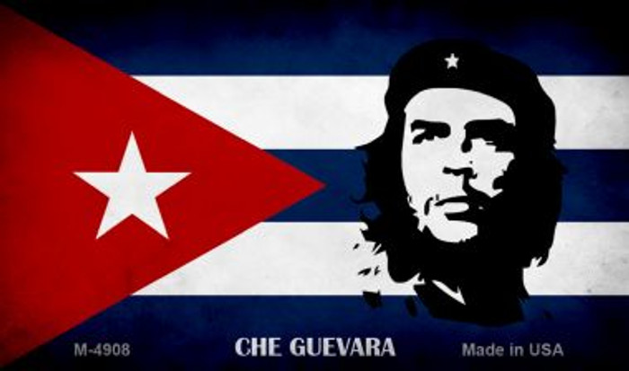 Che Guevara Flag Wholesale Novelty Metal Magnet