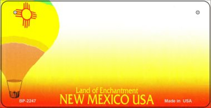 New Mexico Novelty State Bicycle License Plate BP-2247