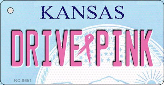 Drive Pink Kansas Wholesale Novelty Key Chain