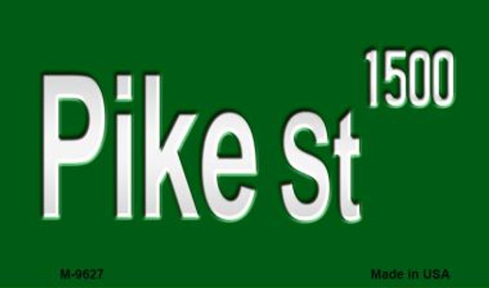 Pike St 1500 Wholesale Novelty Metal Magnet