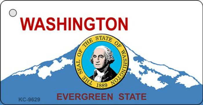 Washington Background With Seal Wholesale Novelty Key Chain