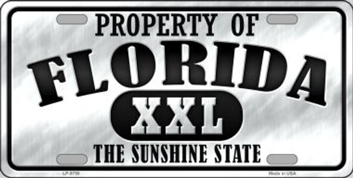 Property Of Florida Novelty Wholesale Metal License Plate