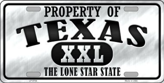 Property Of Texas Novelty Wholesale Metal License Plate
