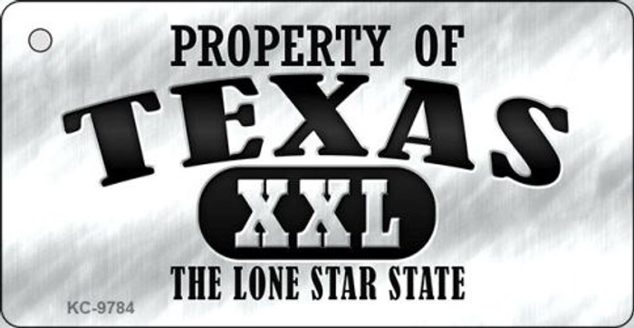 Property Of Texas Wholesale Novelty Key Chain
