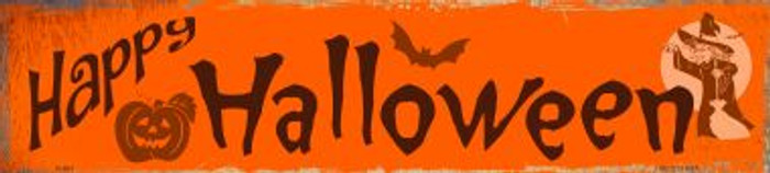 Happy Halloween Wholesale Novelty Metal Small Street Signs