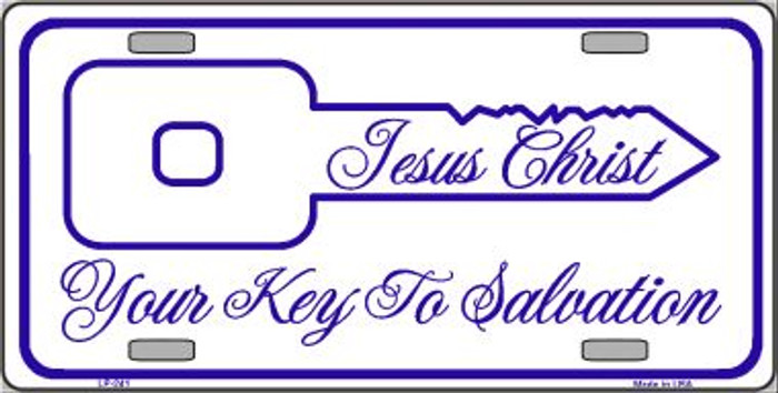 Your Key To Salvation Wholesale Metal Novelty License Plate LP-241