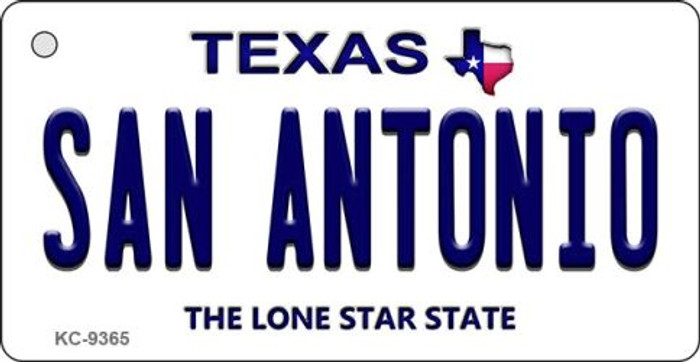 San Antonio Texas Background Wholesale Novelty Key Chain