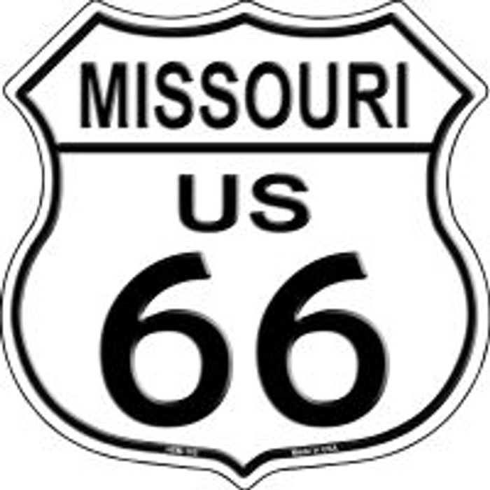 Route 66 Missouri Highway Shield Wholesale Novelty Metal Magnet HSM-105
