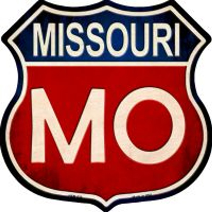 Missouri Highway Shield Wholesale Novelty Metal Magnet