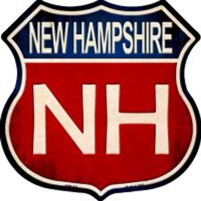 New Hampshire Highway Shield Wholesale Novelty Metal Magnet