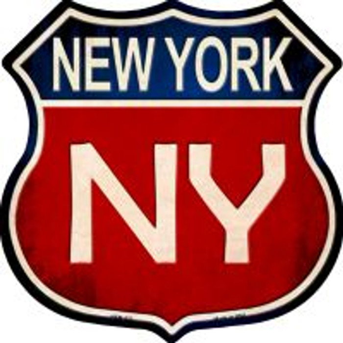 New York Highway Shield Wholesale Novelty Metal Magnet