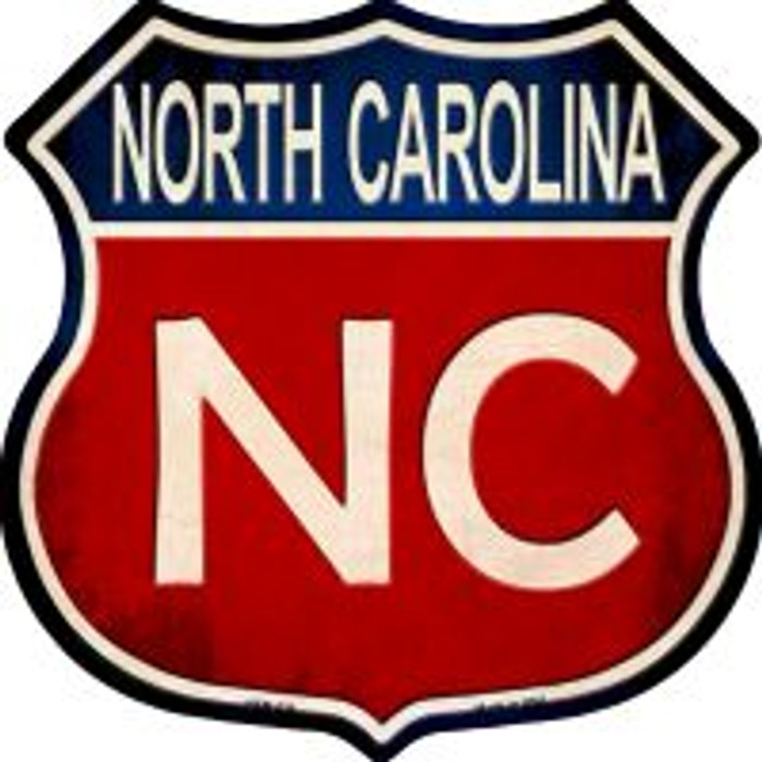 North Carolina Highway Shield Wholesale Novelty Metal Magnet