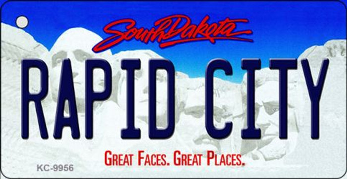 Rapid City South Dakota Background Metal Novelty Wholesale Key Chain