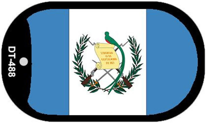 "Guatemala Flag Country Flag Dog Tag Kit 2"" Wholesale Metal Novelty Necklace"