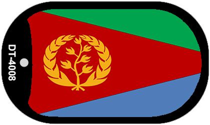 "Eritrea Flag Country Flag Dog Tag Kit 2"" Wholesale Metal Novelty Necklace"