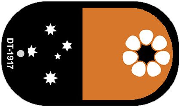 """Northern Territory Flag Country Flag Dog Tag Kit 2"""" Wholesale Metal Novelty Necklace"""