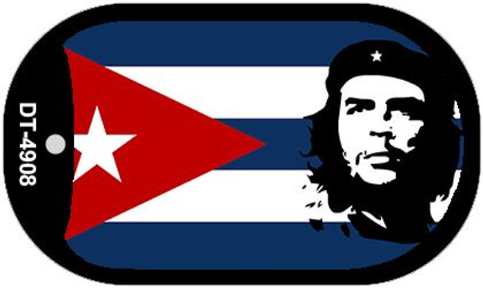 """Che Guevara Flag Country Flag Dog Tag Kit 2"""" Wholesale Metal Novelty Necklace"""