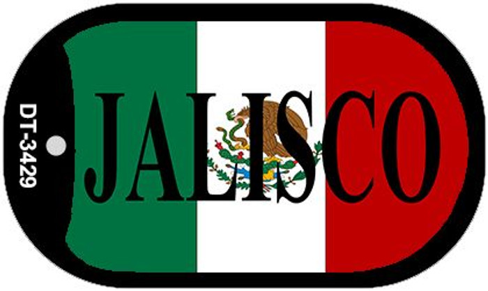 "Jalisco Dog Tag Kit 2"" Wholesale Metal Novelty Necklace"