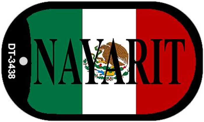 "Nayarit Dog Tag Kit 2"" Wholesale Metal Novelty Necklace"