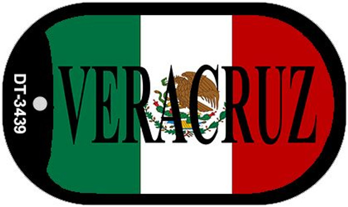 "Veracruz Dog Tag Kit 2"" Wholesale Metal Novelty Necklace"