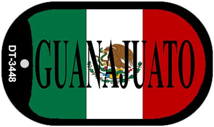 "Guanajuato Dog Tag Kit 2"" Wholesale Metal Novelty Necklace"