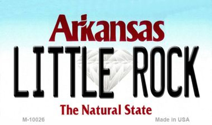 Little Rock Arkansas State Background Magnet Novelty Wholesale