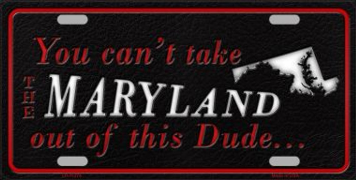 Maryland Dude License Plate Novelty Metal Wholesale