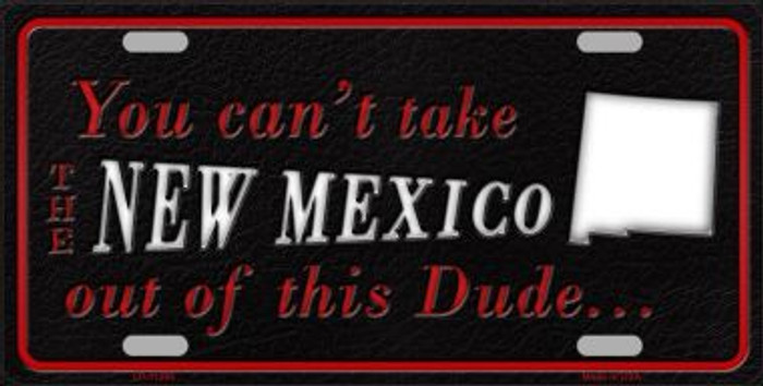 New Mexico Dude License Plate Novelty Metal Wholesale