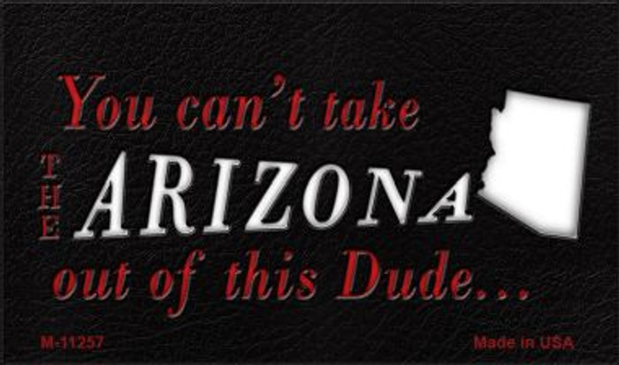 Arizona Dude Magnet Novelty Metal Wholesale M-11257