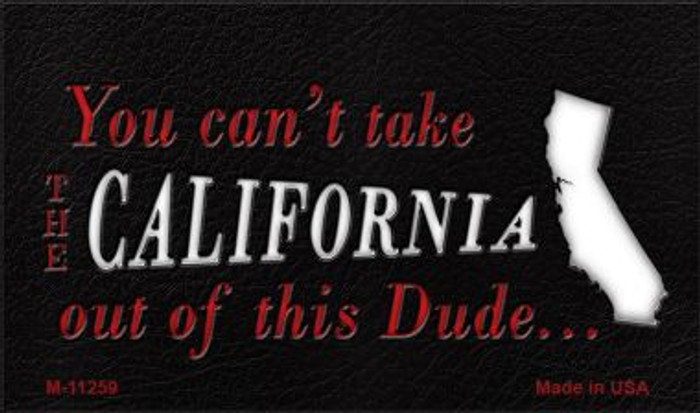 California Dude Magnet Novelty Metal Wholesale M-11259