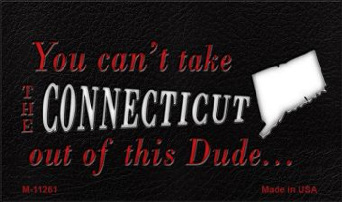 Connecticut Dude Magnet Novelty Metal Wholesale M-11261