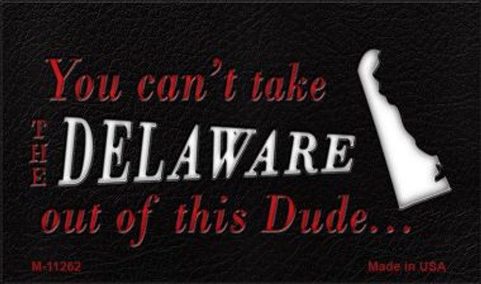 Delaware Dude Magnet Novelty Metal Wholesale M-11262