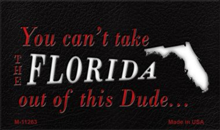 Florida Dude Magnet Novelty Metal Wholesale M-11263
