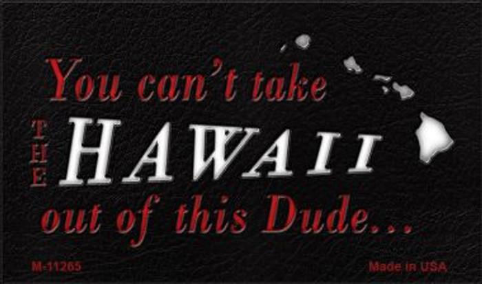 Hawaii Dude Magnet Novelty Metal Wholesale M-11265