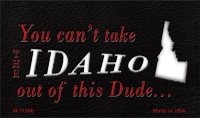 Idaho Dude Magnet Novelty Metal Wholesale M-11266