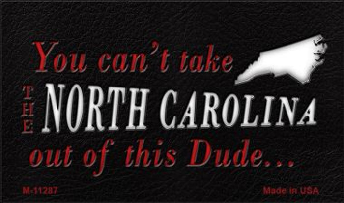 North Carolina Dude Magnet Novelty Metal Wholesale