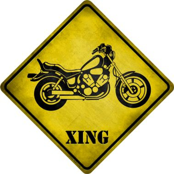 Classic American Chopper Xing Novelty Metal Crossing Sign Wholesale