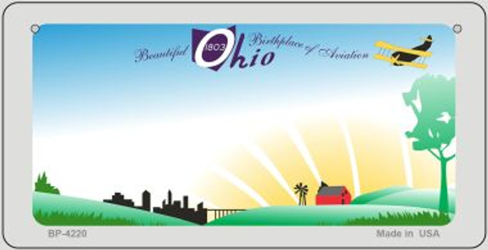 Ohio State  Novelty Wholesale Bicycle License Plate BP-4220